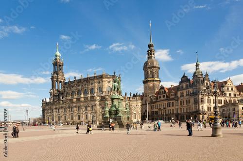 Dresden Theaterplatz