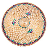 top view of vietnamese style straw hat