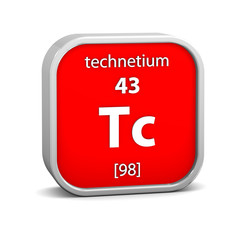 Technetium material sign