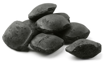 Coco charcoal briquetts