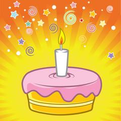 R&R Birthday Cake
