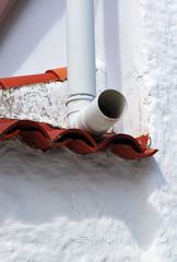 Canalón de PVC