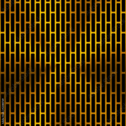 Background with Circular Pattern and Gold Texture