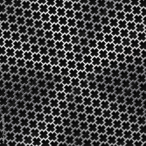 Background with Cross Pattern and Metal Texture