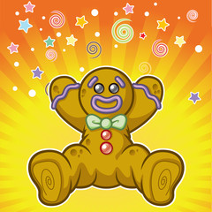 R&R Surprise Gingerbread Man