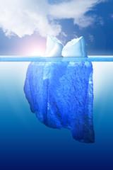 Eisberg am Südpol