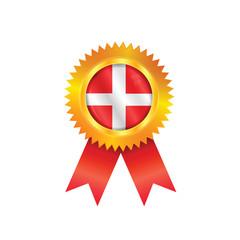 Denmark medal flag
