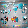 Vector Design Set Of Infograph...