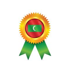 Maldives medal flag