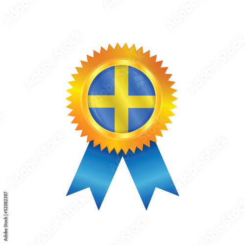 Sweden medal flag