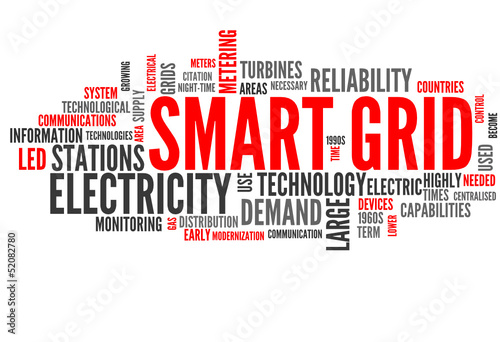 Smart Grid (english tag cloud)