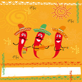 illustration, mexican cuisine