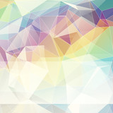 Fototapety multicolored abstract background of triangles