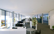 Modernes Büro - modern open space office