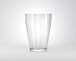 Glas Trinkglas Vorne
