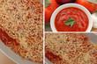 Gratin de Spaghetti sauce tomate