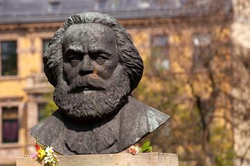 Karl Marx Büste Dessau