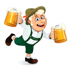 Hilarious Drunk Guy on Oktoberfest