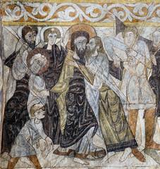 El beso de Judas (Iglesia Santos Justo y Pastor,Segovia)