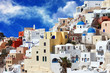 obraz - colors of Santorin...