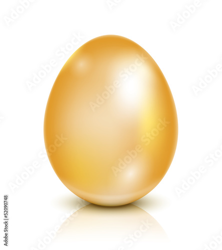 Vector Golden egg