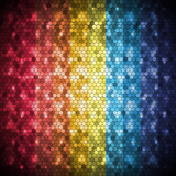 Abstract digital honeycomb background