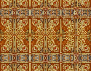 Ornamental Textured Background