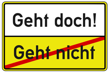 Problem Lösung Schild   #130506-svg05