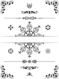 Ornament design elements dividers