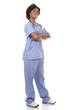 black medical nurse