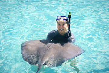 Swimming with the Stingrays Vacation