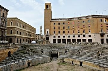 Römisches Amphitheater in Lecce | Apulien