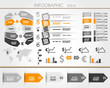orange business world square infographic