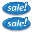 Big blue sale button