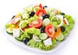 Fresh vegetable salad