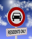 Residents only