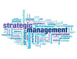 STRATEGIC MANAGEMENT Tag Cloud (business strategy lean process)