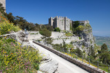 Medieval Castle of Venus in Erice, Sicily, Italy
