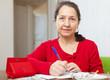 serious mature woman fills  bills