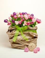 Dekoratives Blumengeschenk