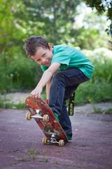Jeune Skater