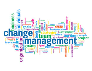 """CHANGE MANAGEMENT"" Tag Cloud (quality process improvement lean)"