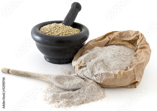 Buckwheat kernels and flour