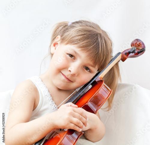 Fotobehang Muziek Violin