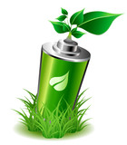 Ecology battery wint leaves