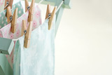 Pastel color laundry