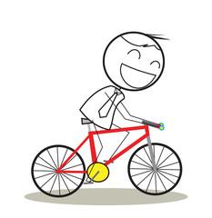 businessman bicycle