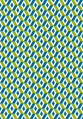 Rumble Geometric Seamless Pattern