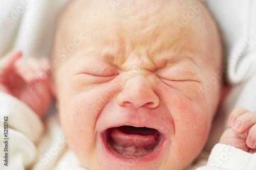 Leinwanddruck Bild Newborn