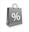Einkaufstasche_Prozente_grau